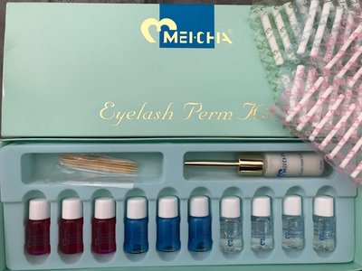 Meicha wimpers permanent set
